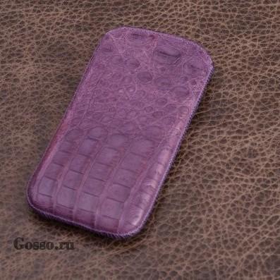 Чехол из кожи каймана для iPhone 5/5S Перекрестки сумерек
