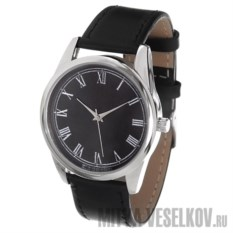 Часы Mitya Veselkov Куранты на черном