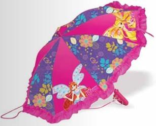 Детский зонтик-трость Winx Purple Bilievix