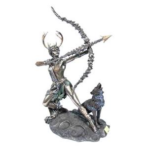Бронзовая статуэтка «Диана»