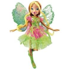 Кукла с двойными крыльями Winx Flora