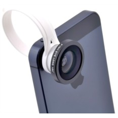 Объектив для iPhone и любого телефона Fisheye On A Clip