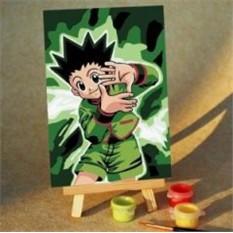Краски мальчик с открытке 28