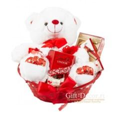 Подарочная корзина Love
