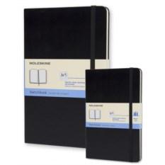 Черная записная книжка для рисунков Moleskine Classic