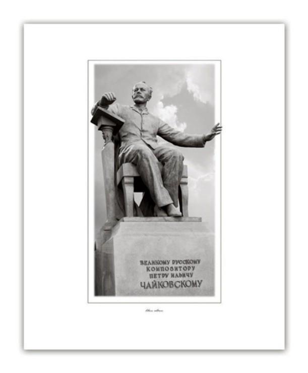 Постер Памятники. Чайковский