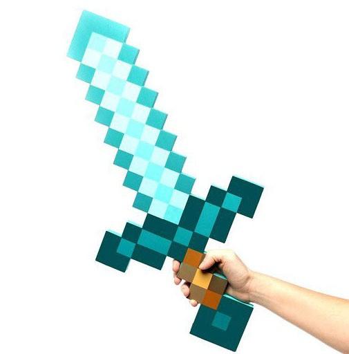 Сувенир Алмазный меч Minecraft