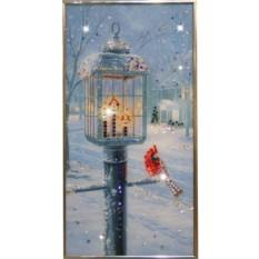 Картина с кристаллами Сваровски Рождественский вечер