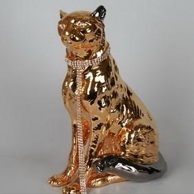 Статуэтка «Пантера» золотая