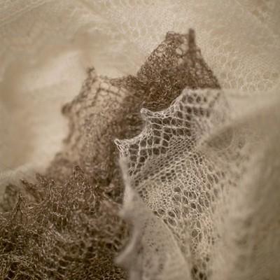 Белая паутинка  Морозные узоры