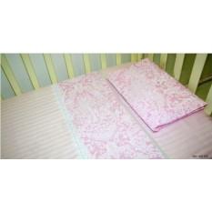 Комплект детского постельного белья из сатина Карамелька