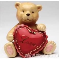 Набор для соли и перца Влюбленный медвежонок