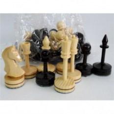 Деревянные шахматные фигуры ручной работы