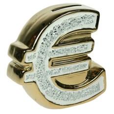 Фарфоровая копилка Евро