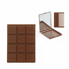 Зеркало Шоколадка с расческой