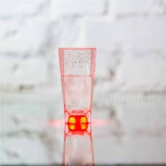 Стакан с красной подсветкой Inglasslight