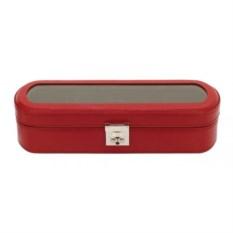 Красная шкатулка для хранения часов Champ-Collection