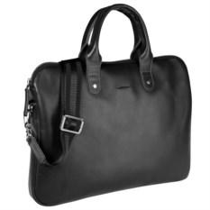 Черная сумка для документов Security