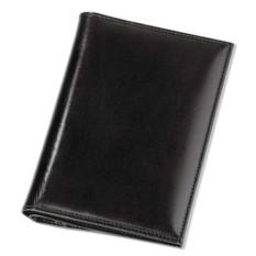 Черная обложка для автодокументов и паспорта
