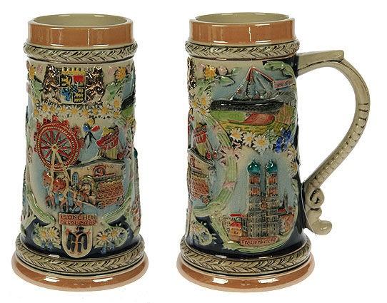 Пивная кружка коллекционная Мюнхен