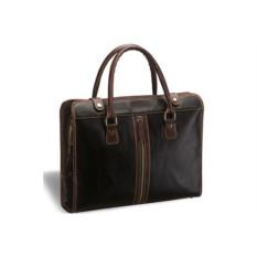 Деловая черная сумка Brialdi Carrara