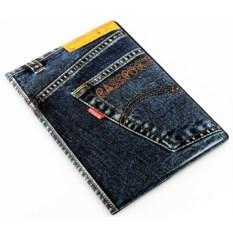 Обложка на паспорт Джинсы