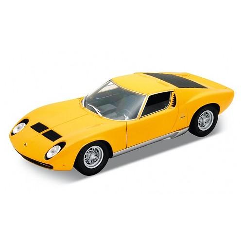 Модель машины 1:18 Lamborghini Miura Welly