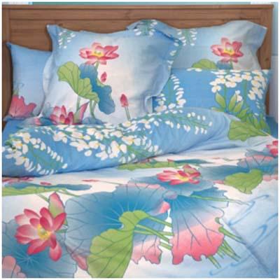 Двуспальное постельное белье «КУВШИНКИ»