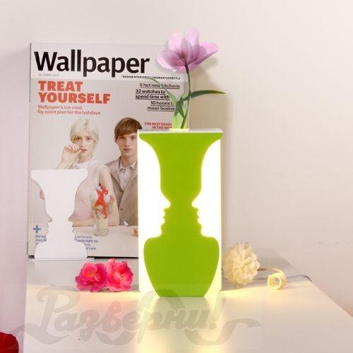 Лампа-ваза