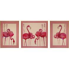 Фламинго, триптих