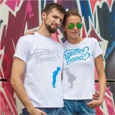 Парные футболки Любовь на двоих