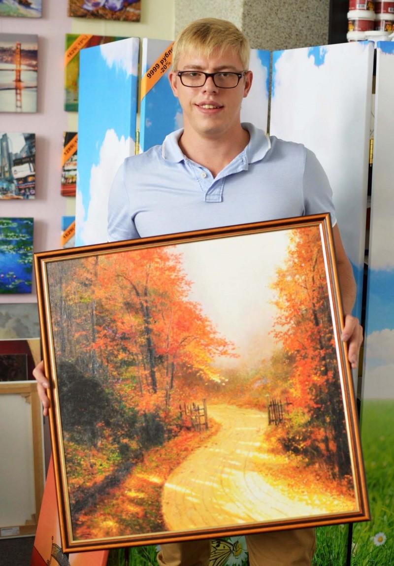 Картина в подарок на холсте 12