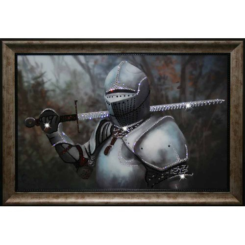 Картина Swarovski Рыцарь