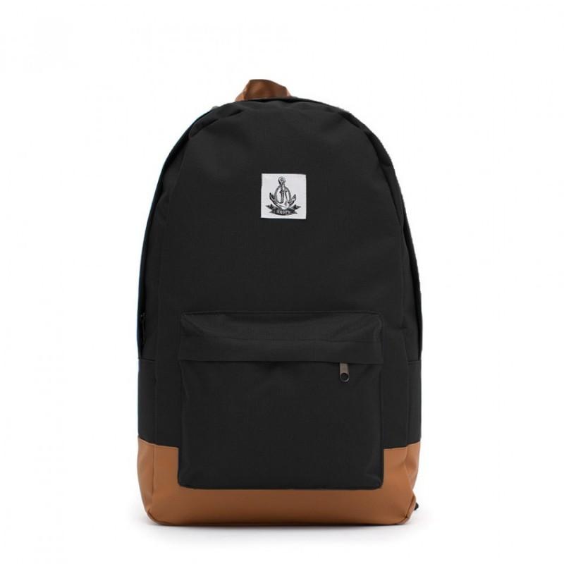 Черный рюкзак Якорь
