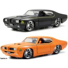 Модель автомобиля Pontiac GTD Judge 1:24
