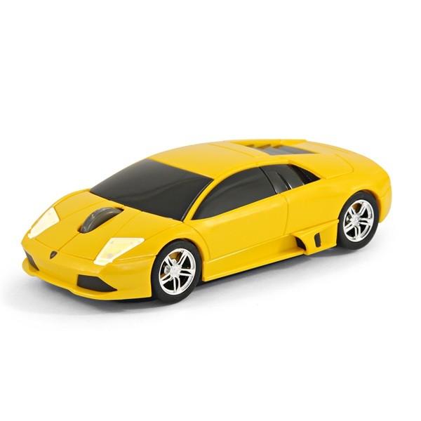 Мышь в виде RoadMice Lamborghini Murcielago Yellow