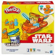 Игровой набор с пластилином Play-Doh Герои Звездные войны
