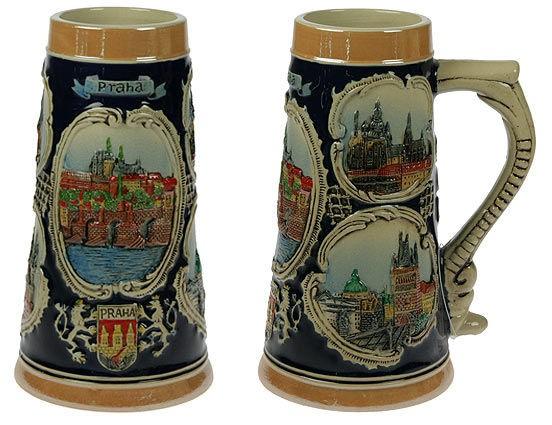 Пивная кружка коллекционная Прага
