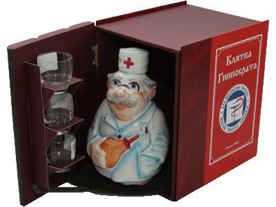 Подарочный набор Трёхтомник Доктор