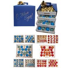 Набор елочных игрушек Подарочный