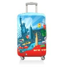 Чехол для чемодана LOQI Urban New York