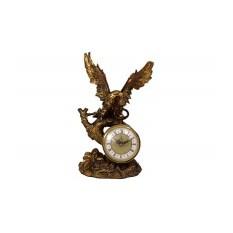 Декоративные кварцевые настольные часы Ястреб