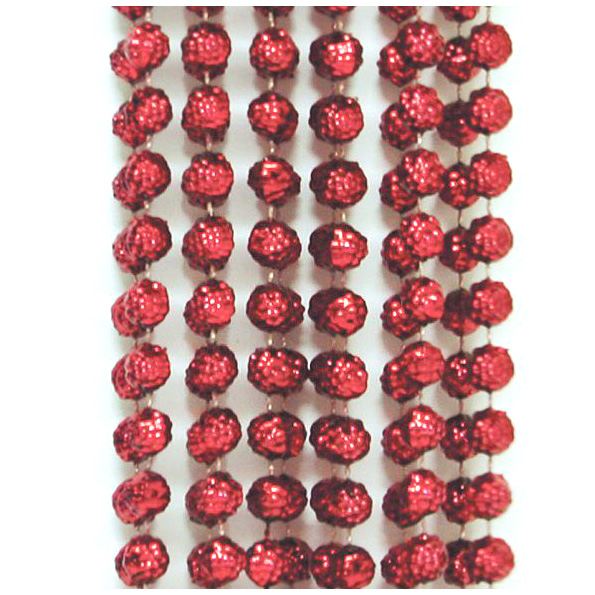 БУСЫ пластиковые ГРАНЕНЫЕ 10 мм, 2.7 м, в асс. 6 цветов