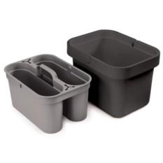 Серый хозяйственный контейнер Clean&Store