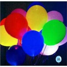 Букет разноцветных шаров Сияние