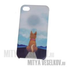 Чехол для IPhone Собака на дороге