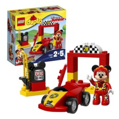 Конструктор Lego Duplo Гоночная машина Микки