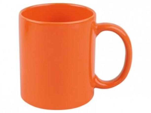 Оранжевая кружка на 320 мл