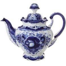 Чайный набор с художественной росписью гжель Семейный