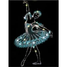 Картина с кристаллами Сваровски Балерина